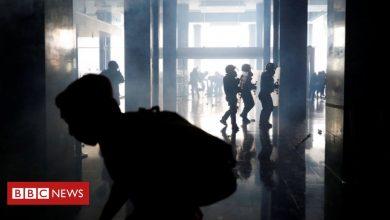 Ecuador protesters storm parliament as unrest worsens - BBC News